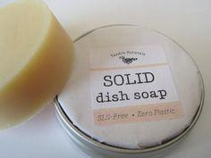 Tandi S Naturals Solid Dish Soap Homemade Dish Soap Washing