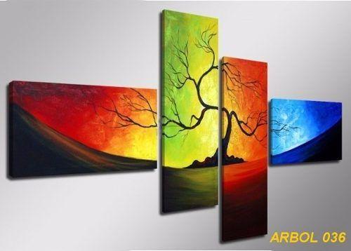 Cuadros Trípticos Dípticos En Acrilico Joven Art 799 00 Cuadros Modernos Cuadro Abstractos Abstracto