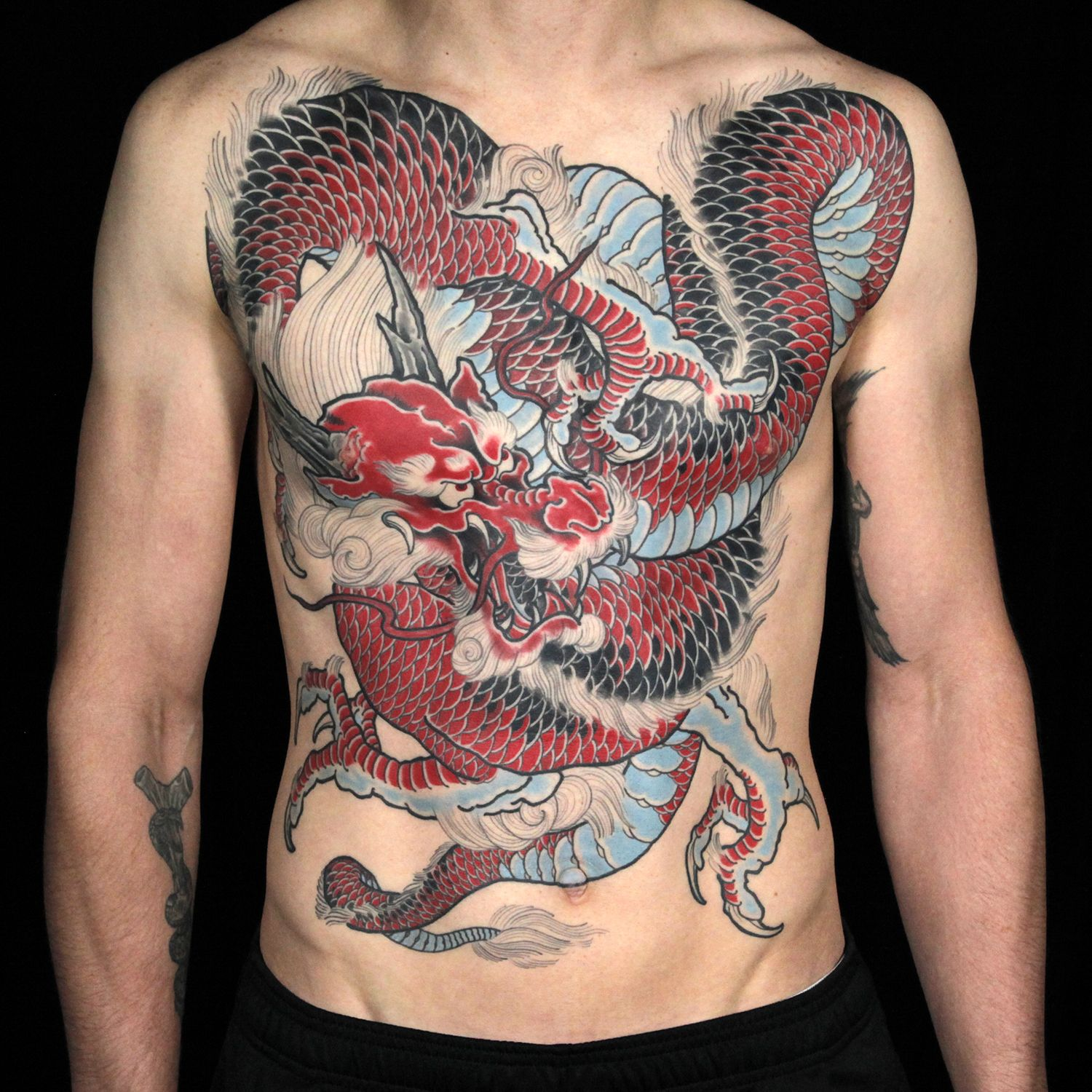Master canvas chest piece by anthony michaels ink for Ink master season 7 finale tattoos