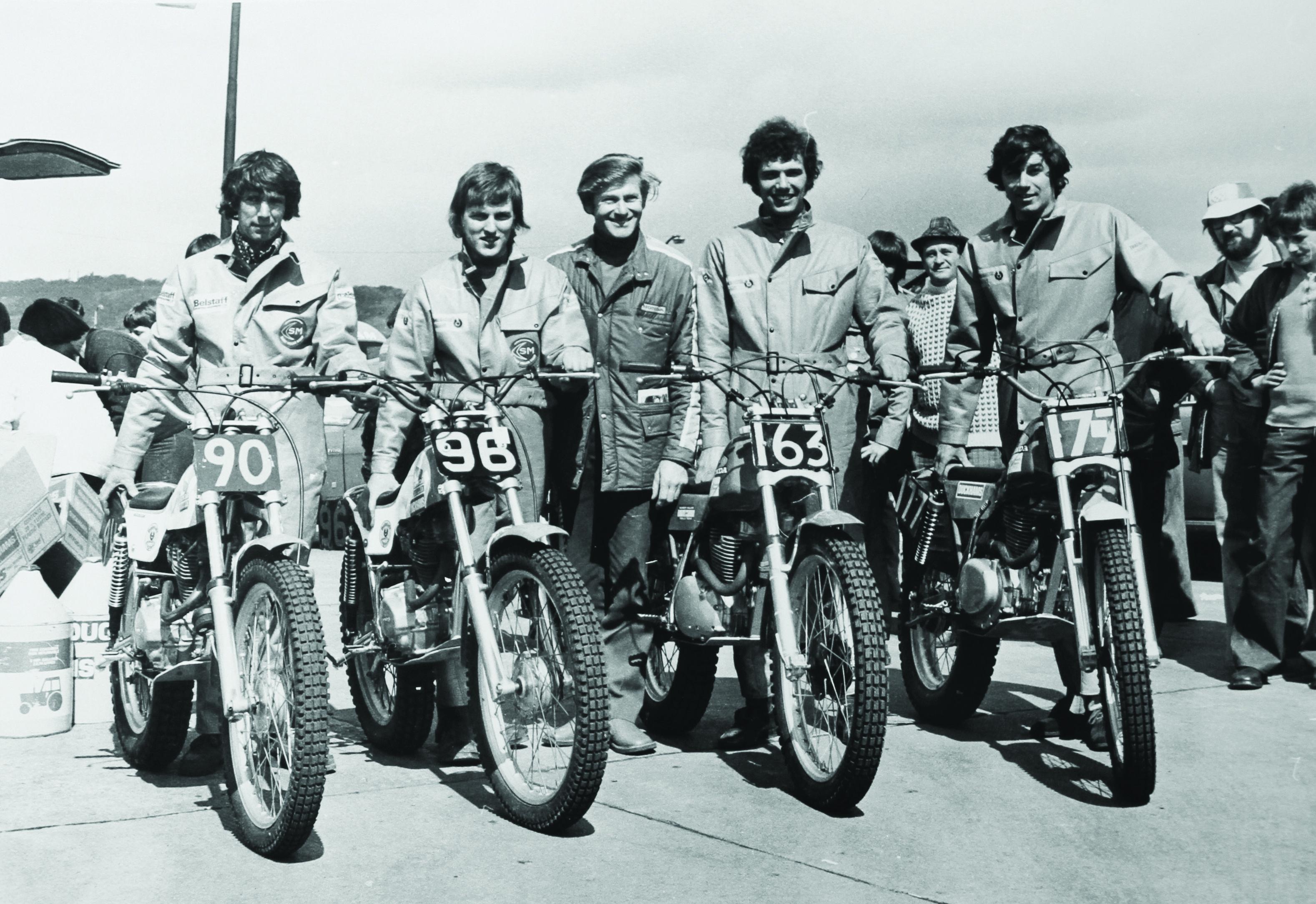 1976: Belstaff sponsors the Scottish Six Days Trial ...