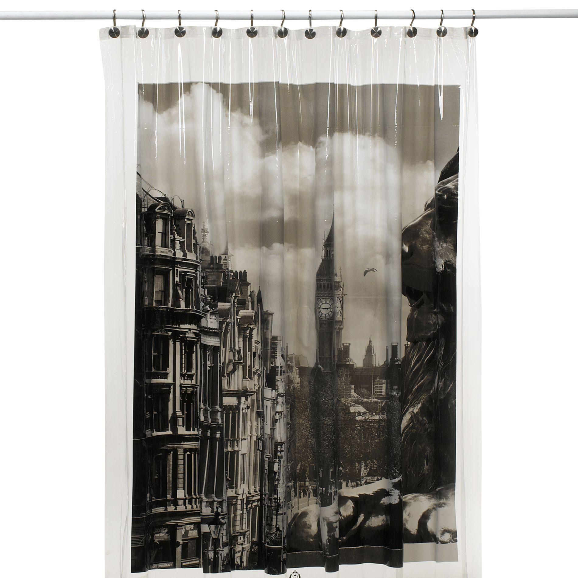 London Shower Curtain Bedbathandbeyond Com Shower Curtain