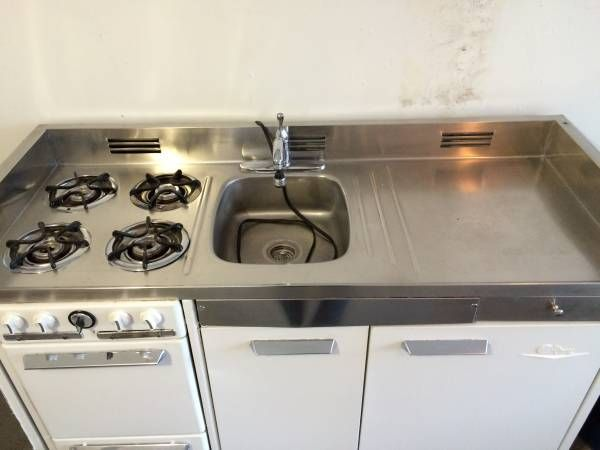 Kitchen All In One Stove Refrigerator