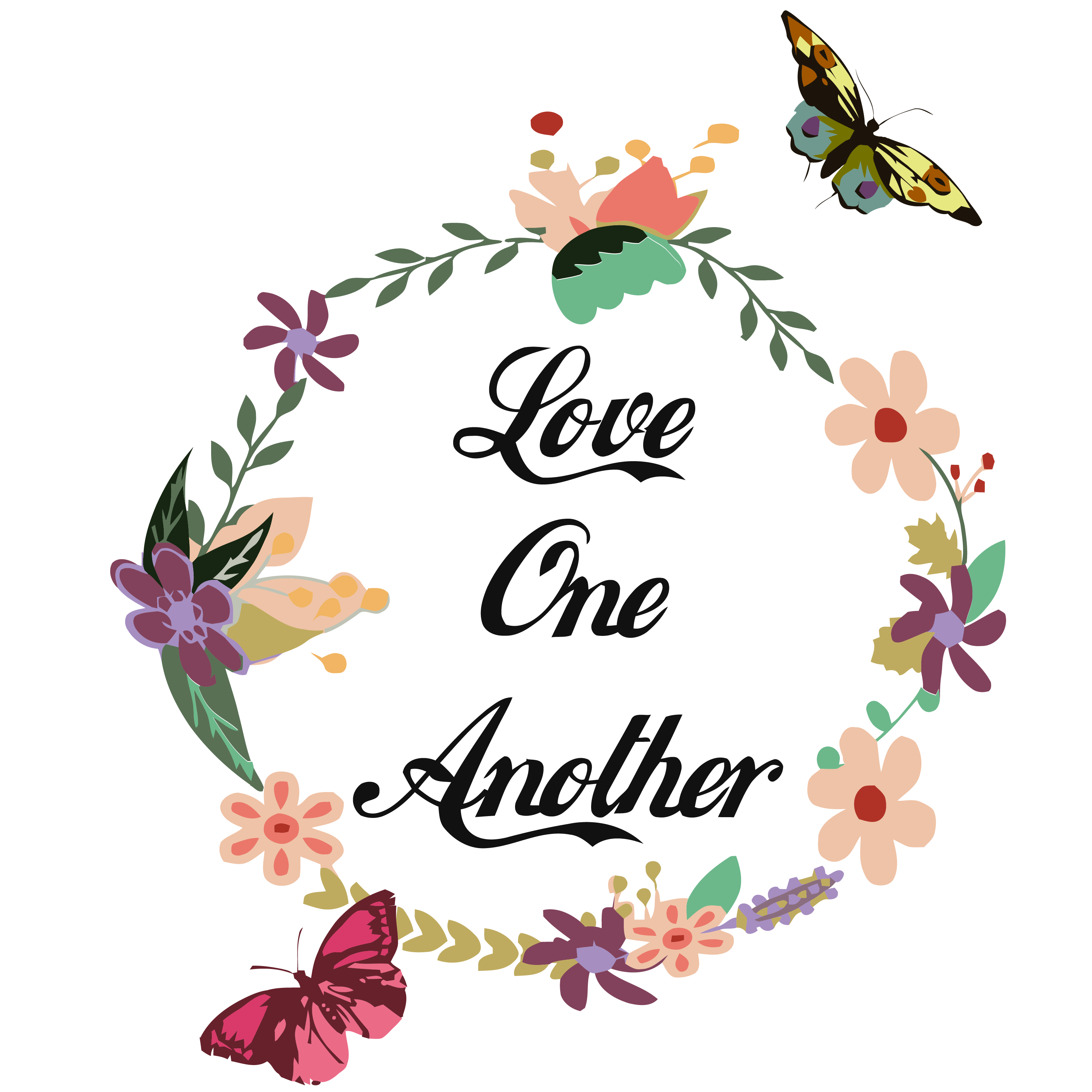 Download Love one another SVG, faith hope love, faith svg, And I ...