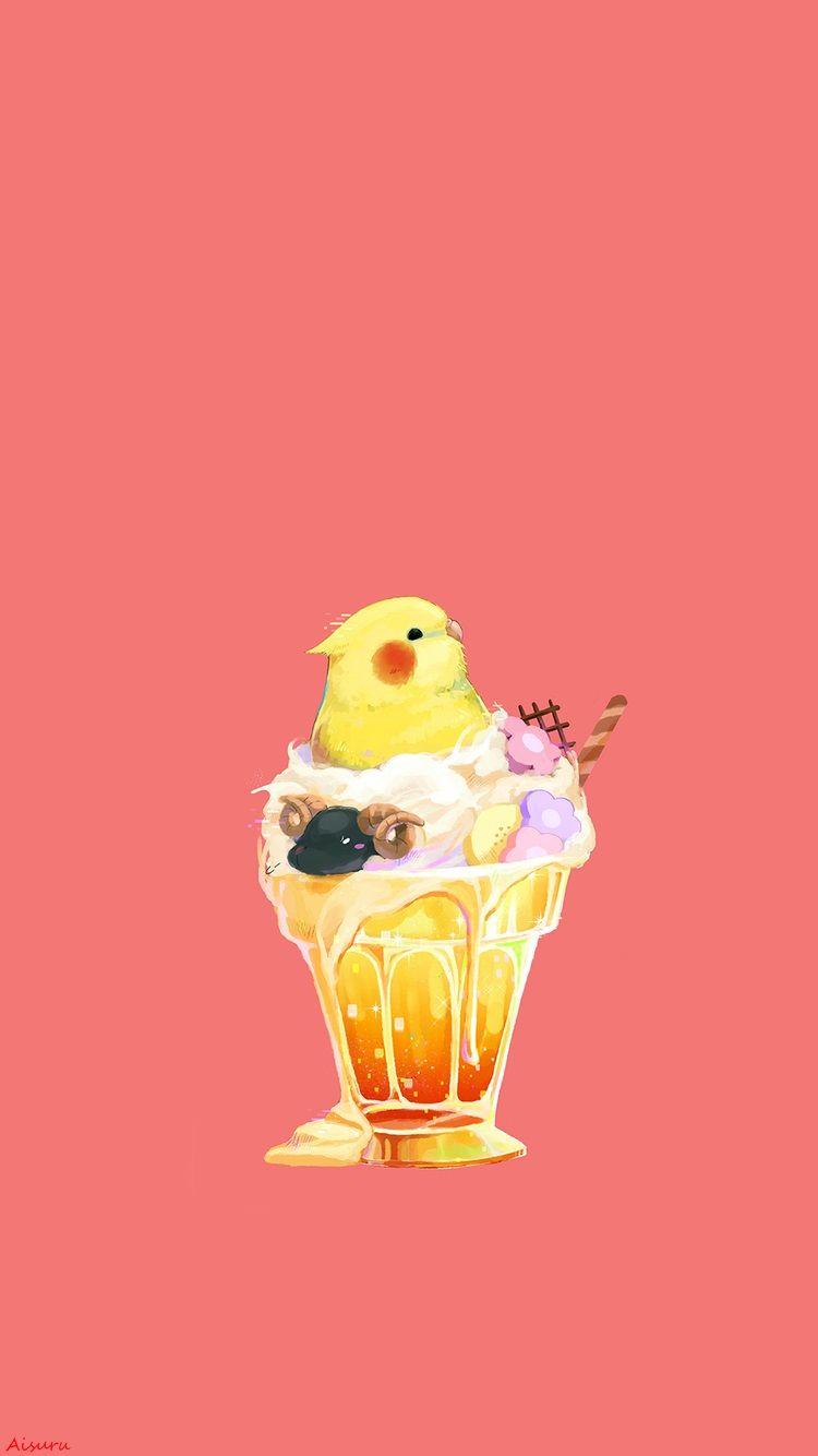 Art A Parrot Wallpaper Iphone My Edition A Aisuru キュートな