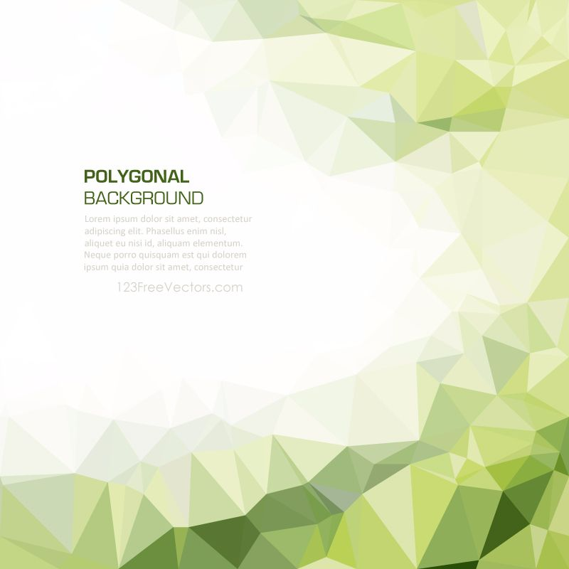 Geometric Polygon Light Green Wallpaper Background In 2020 Green