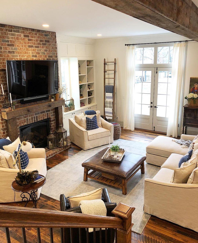 Tv fireplace #Casuallivingroomfurniture   Livingroom ...