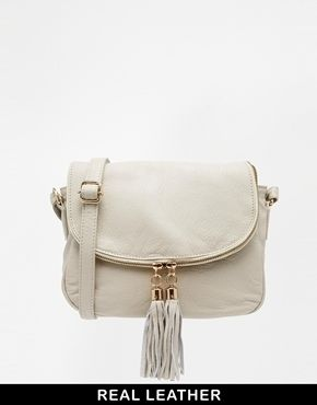 da162285a Urban Code Urbancode Leather Winter White Cross Body Bag on shopstyle.com