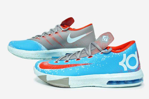 pretty nice b0fab 4d709 Nike KD VI Maryland Blue Crab