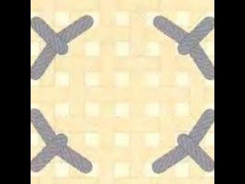 Вышивка дробные крестики