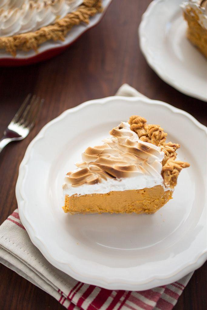Bourbon Sweet Potato Pie | Striped Spatula