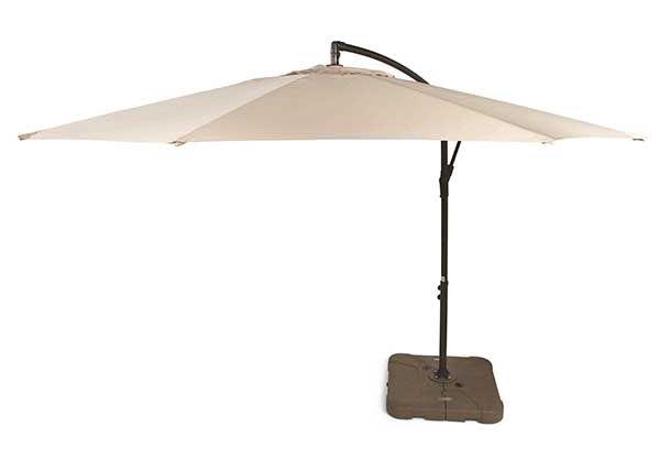 10u0027 Offset Umbrella From Tuesday Morning #TuesdayMorning #outdoor #decor  #umbrella