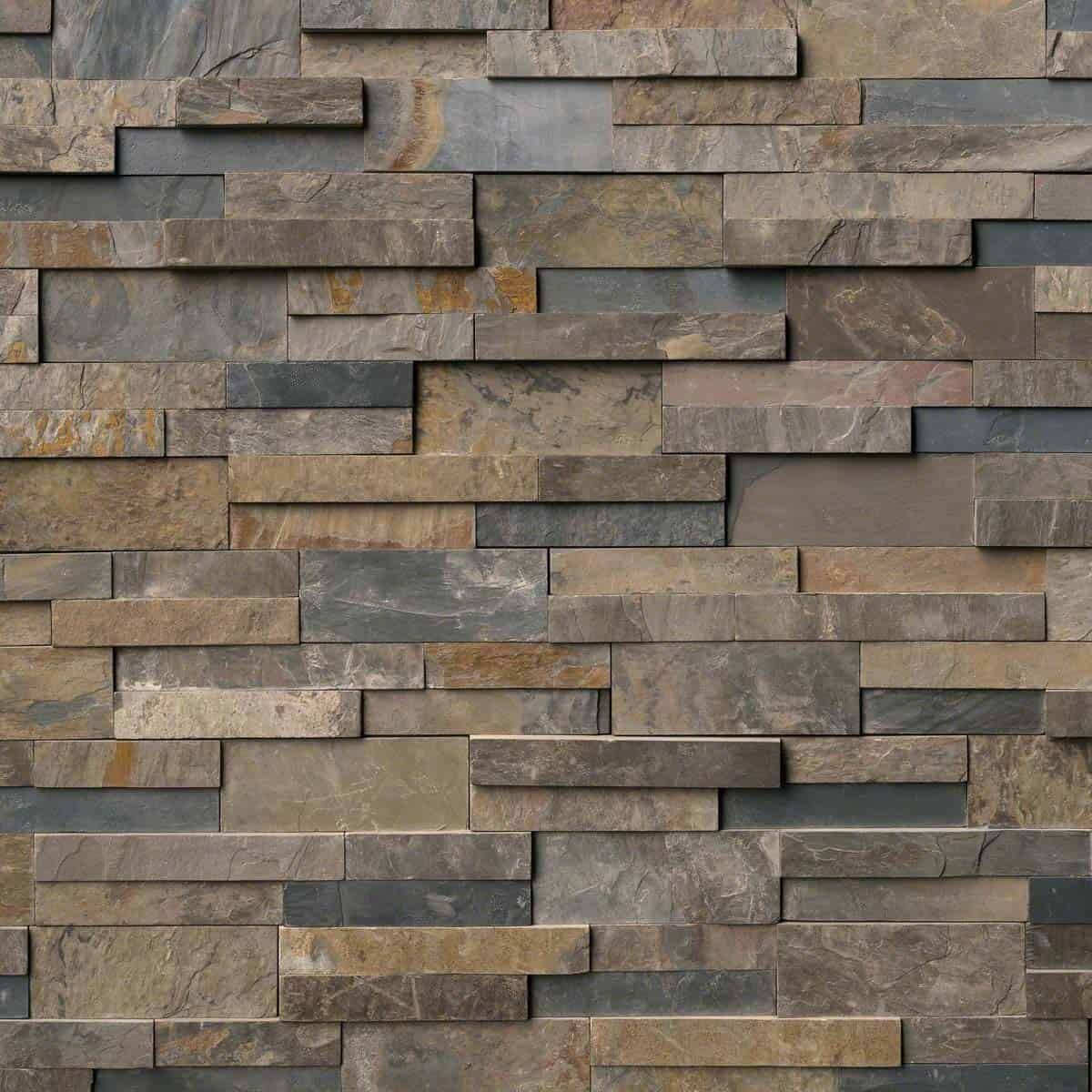 stacked stone panels slate wall tiles