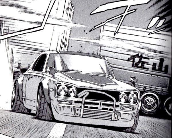 Hakosuka | Automotive illustration, Car art, Car cartoon