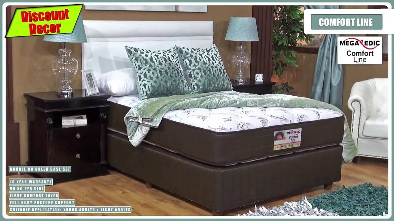 comfort line mattress and base set mattress and base set