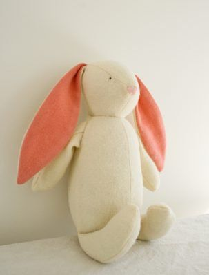 Soft Woolen Bunny   Purl Soho   DIY   Pinterest