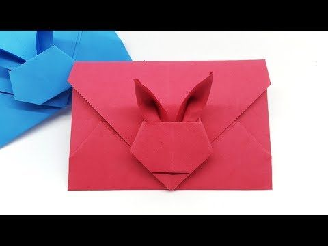 Photo of Envelope from square sheet – Origami Envelope making with Paper at Home