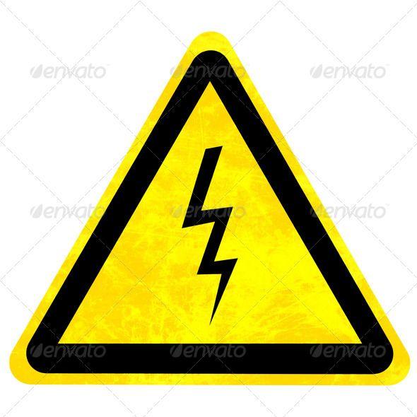 High Voltage Danger Sign Alert Area Attention Black Careful Caution Clean Danger Dangerous Electric Electrical Electricity Electrocute Electro