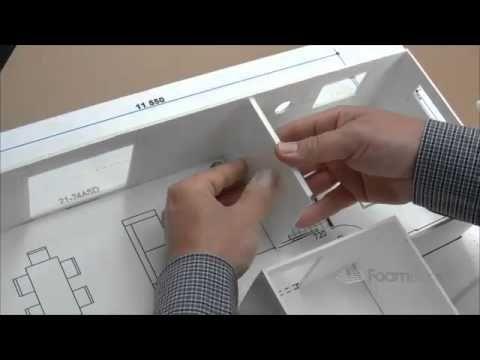 Building Foam Board Models Making House Scale Model Part 4 Model Making Cardboard Model Scale Model Building