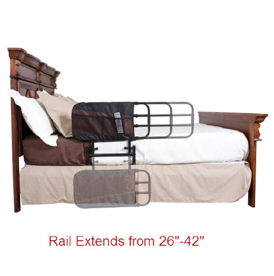 Ez Length Adjustable Bed Assist Rail Adjustable Beds Bed Rails Bed