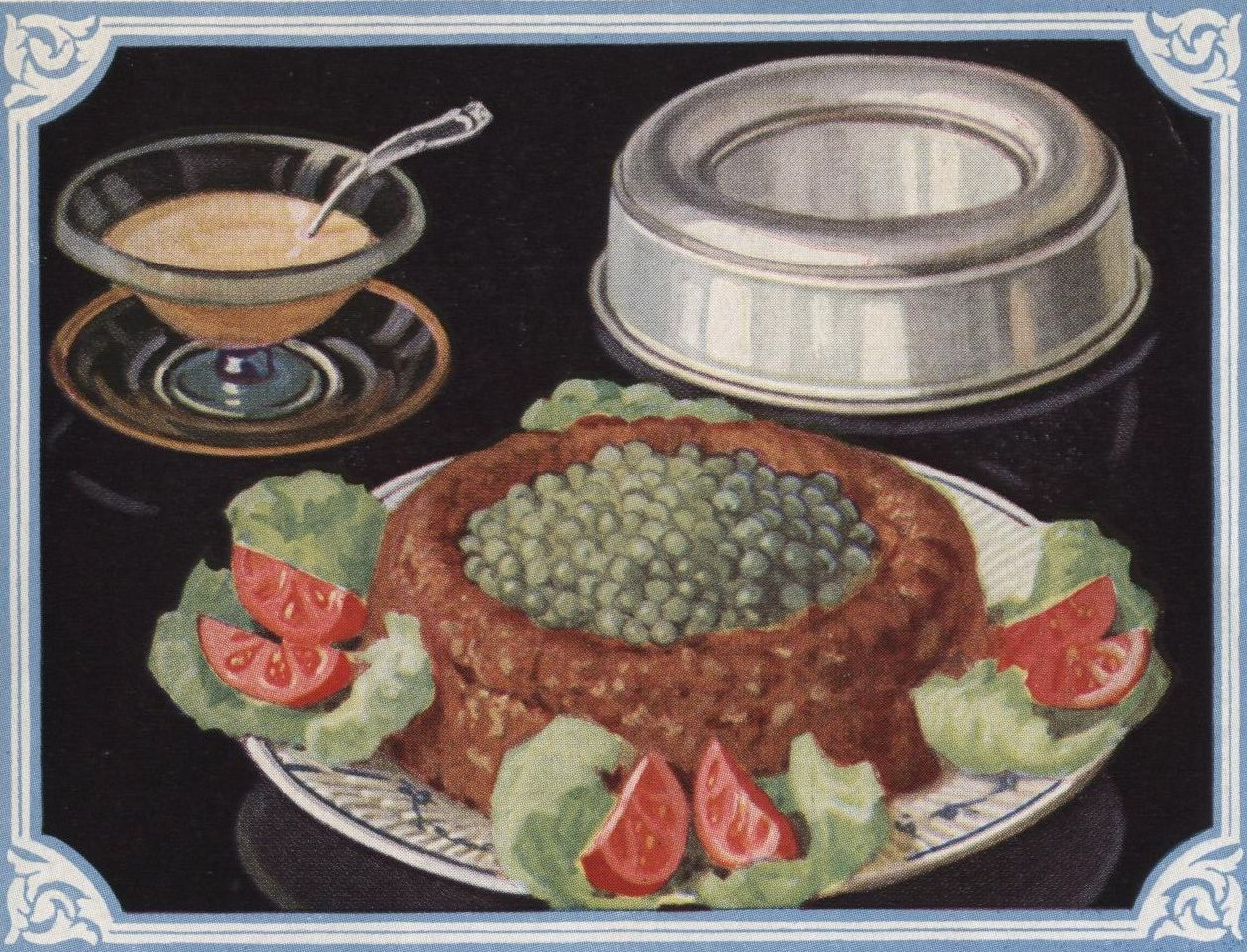 #cooking Meat Loaf from What's New in Cookery (1929)