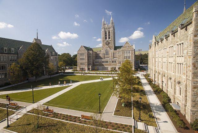 New Look For The Quad Boston University Campus University Campus College Campus