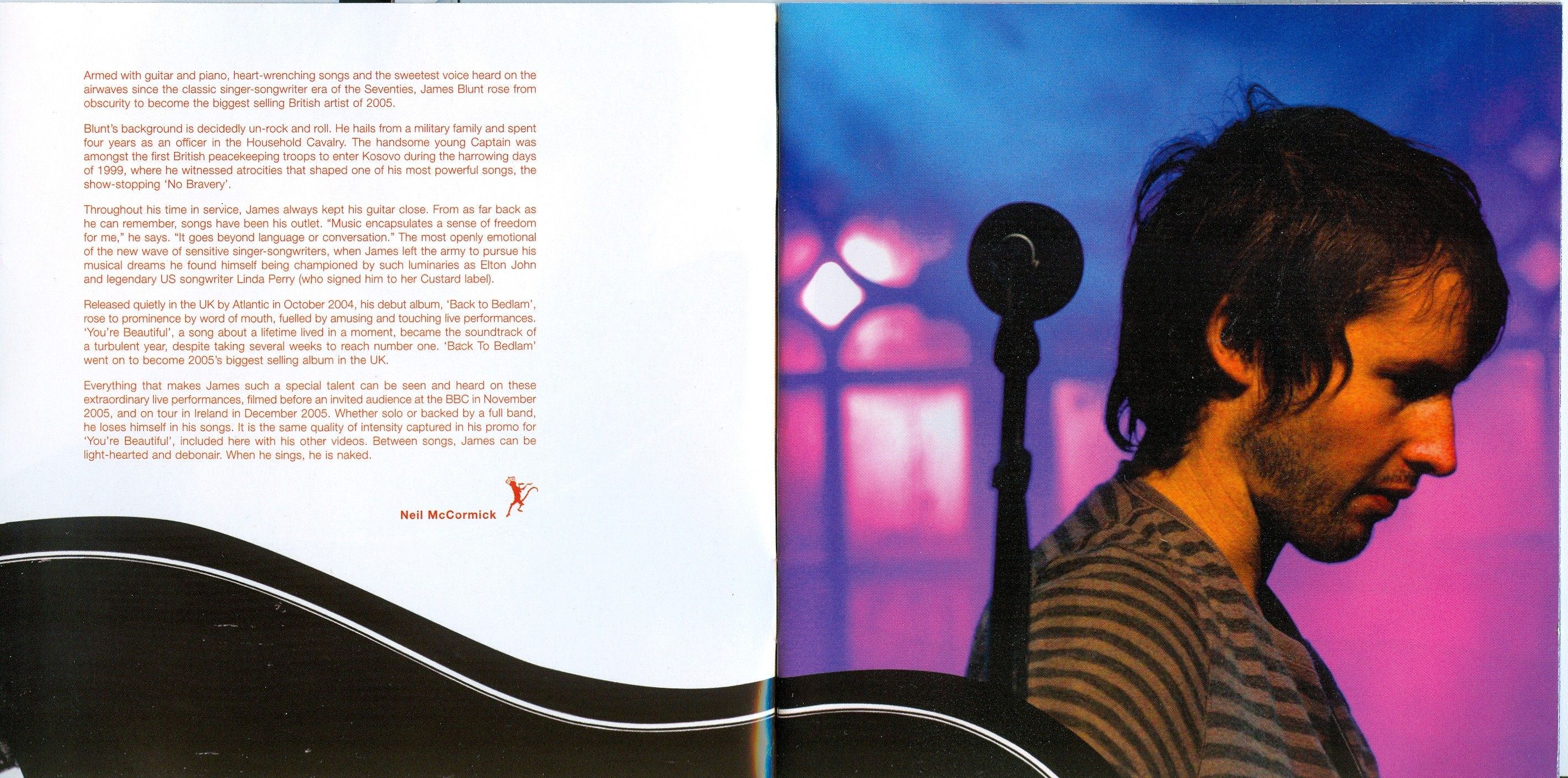 Chasing Time The Bedlam Sessions Album Releases Album Booklet
