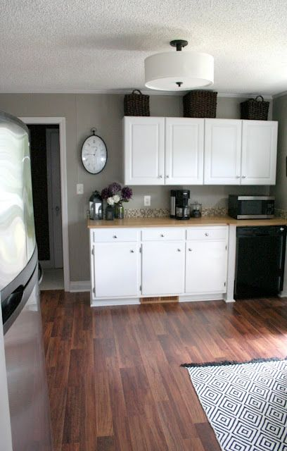 Kitchen Drum Light Aid Fridge From Lowes Home House Remodel