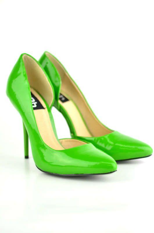 green heels I wish these were like 2 inchs