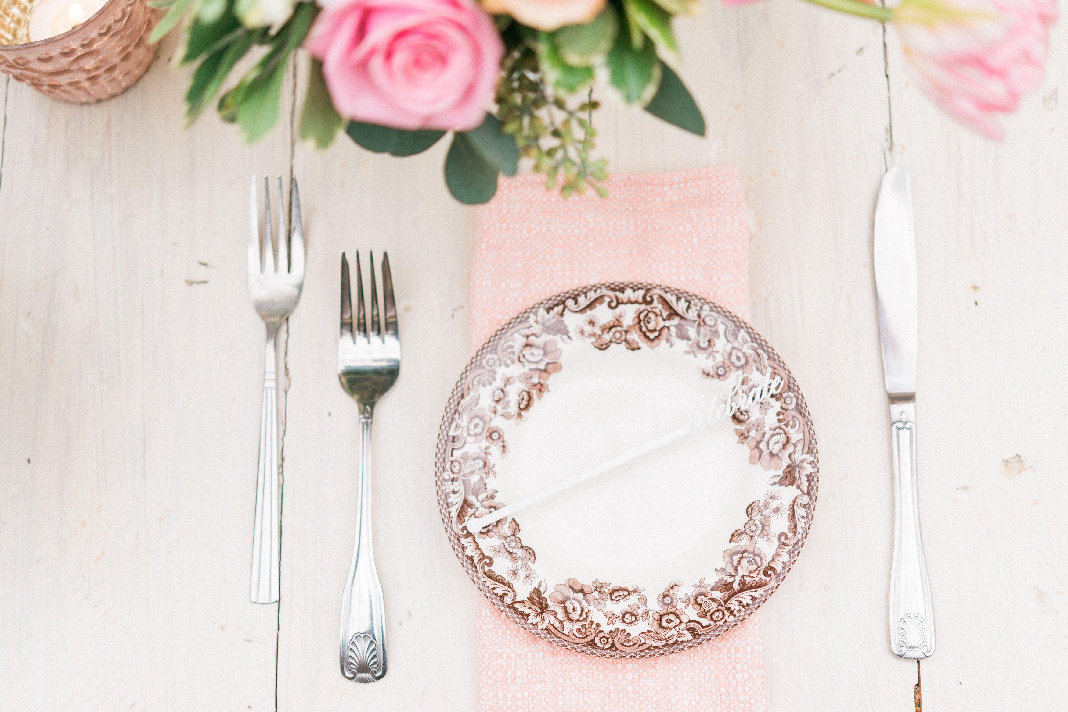 Pretty in Pink Bridal Shower Luncheon - TrueBlu ...