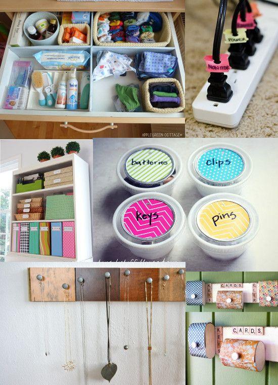 cute home organizing ideas. 35 DIY Home Organizing Ideas  Organization ideas and