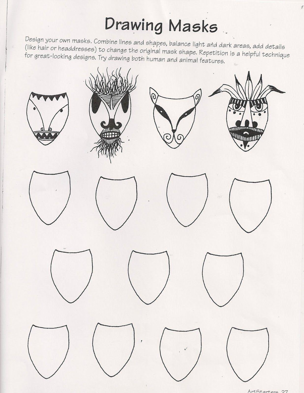No Corner Suns Drawing Masks