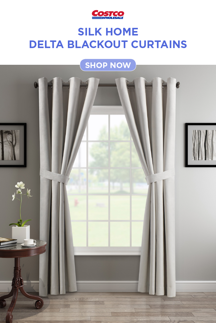 Silk Home Delta Blackout Curtains 2 Pack Cool Curtains