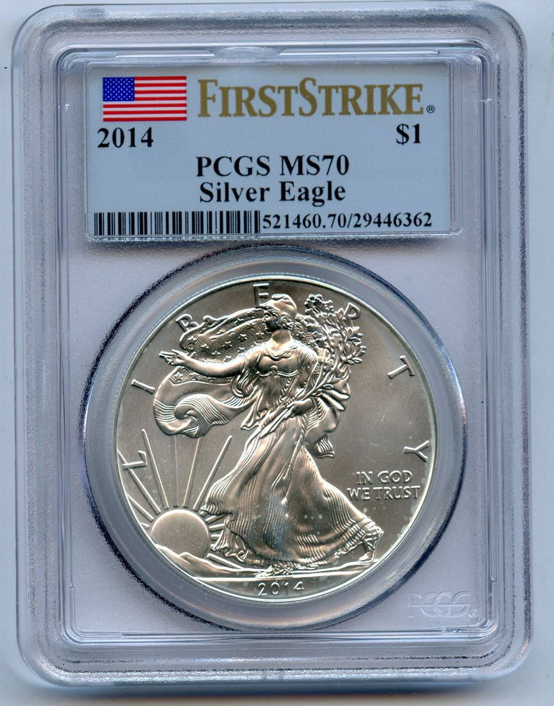 2018-S $1 PROOF PCGS PR 70 DCAM SILVER AMERICAN EAGLE TORCH THOMAS CLEVELAND