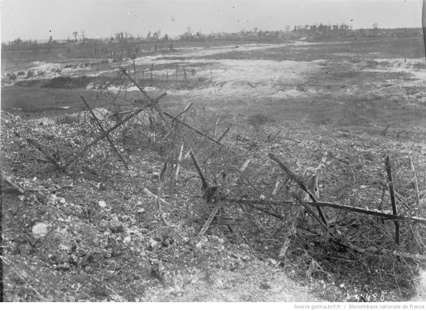Ww battle of the somme german barbed wire