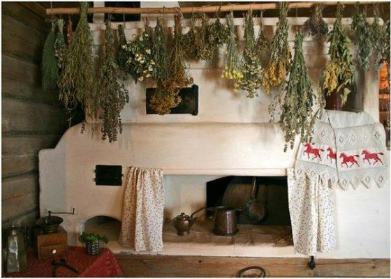 Our Slavic culture has its own vision how to decorate a house and no matter how distant Slavic countries are from each other you will realize their folk decor is always the same in rural villages, be it Russia, Poland, Serbia, Croatia or any other.