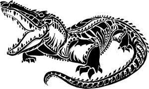 93c5af8275b9f Pin by jonny wang on Alligator Tattoo Designs | Alligator tattoo ...