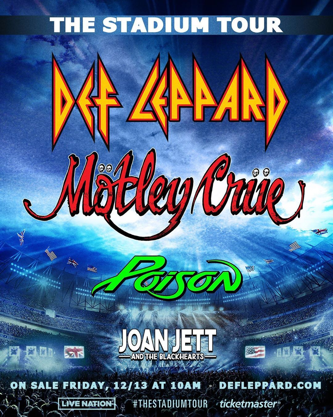 How Do You Get Presale Tickets To Motley Crue