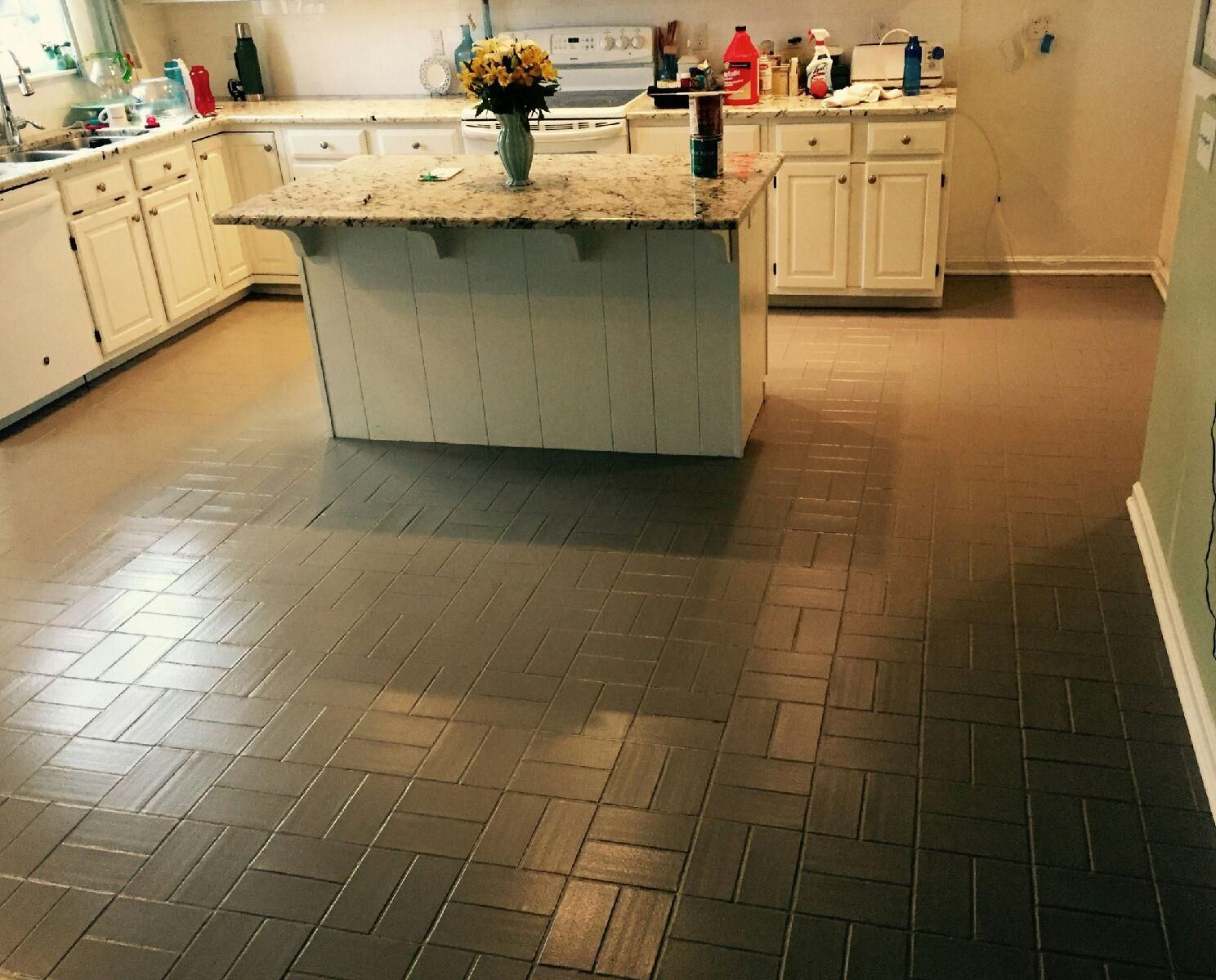 Incredible Kitchen Floor Paint Ideas