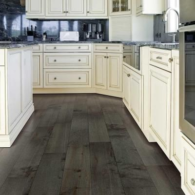 Mohawk Chester Castlerock Maple 1/2 in. Thick x 7 in. Wide x Varying ...