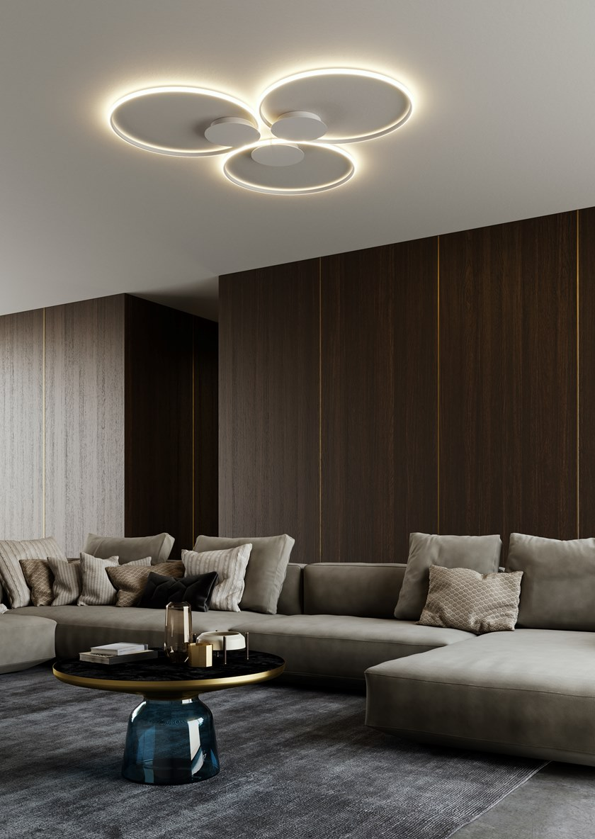 Lampe Plafond Salon Design olympic   appliquefabbian design lorenzo truant en 2020