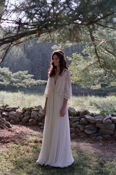 Forrest gump wedding dress