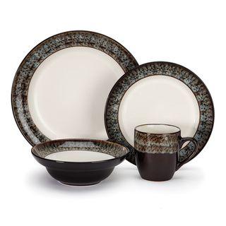 Cuisinart Colette 16-piece Stoneware Dinnerware Set | Overstock.com Shopping - Great Deals on Cuisinart Casual Dinnerware A NICE NEUTRAL BUT WARM SET ...  sc 1 st  Pinterest & Cuisinart Colette 16-piece Stoneware Dinnerware Set | Overstock.com ...