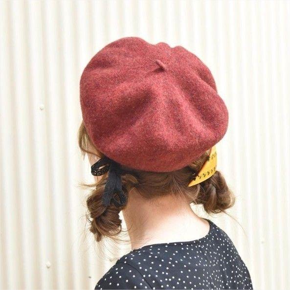 ベレー帽 を使ったおすすめヘアアレンジ 一段と可愛くなれる
