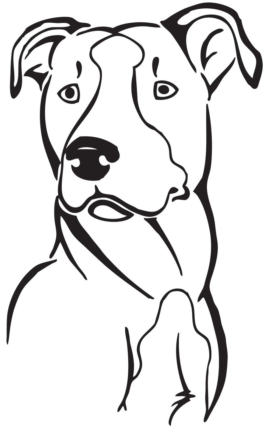 11+ Cute pitbull coloring pages ideas