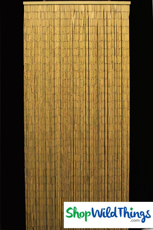 plain bamboo curtain 125 strands! - in movie australia | pinterest