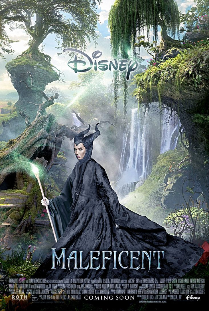 Maleficent 2014 Movie Poster Wonderland Maleficent Movie