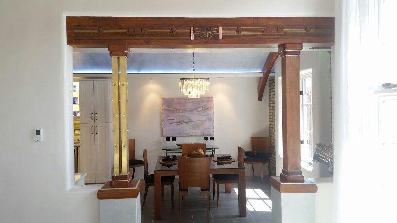 Art Deco Beam And Columns