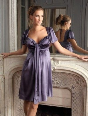 moda vestido de noite de maternidade
