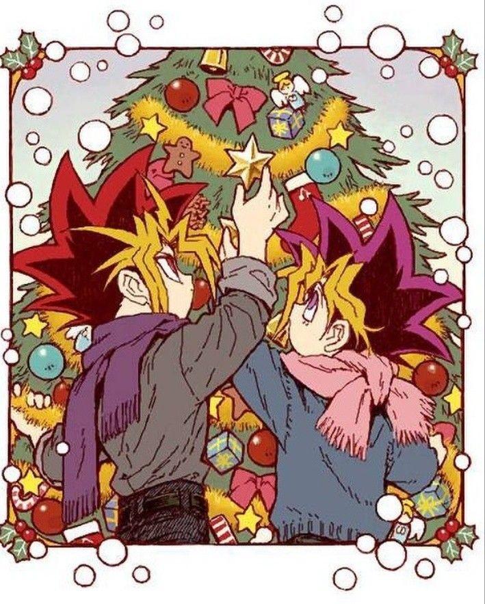 Merry Christmas #Aibou #YuGiOh #mouhitorinoboku #YamiNoGame #Yami x ...