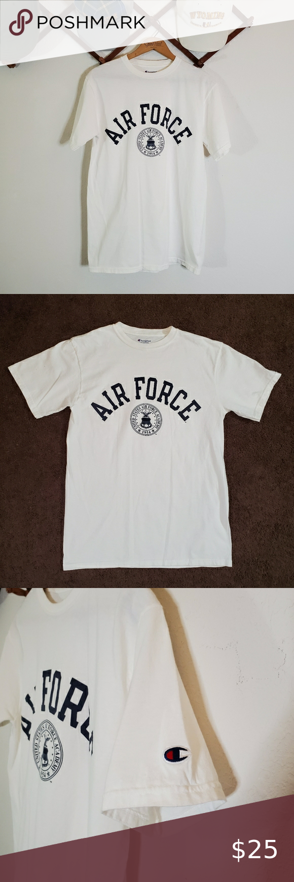 Champion United States Air Force Academy Tshirt Size